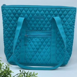 Vera Bradley Get Carried Away Tote Quilted Purse